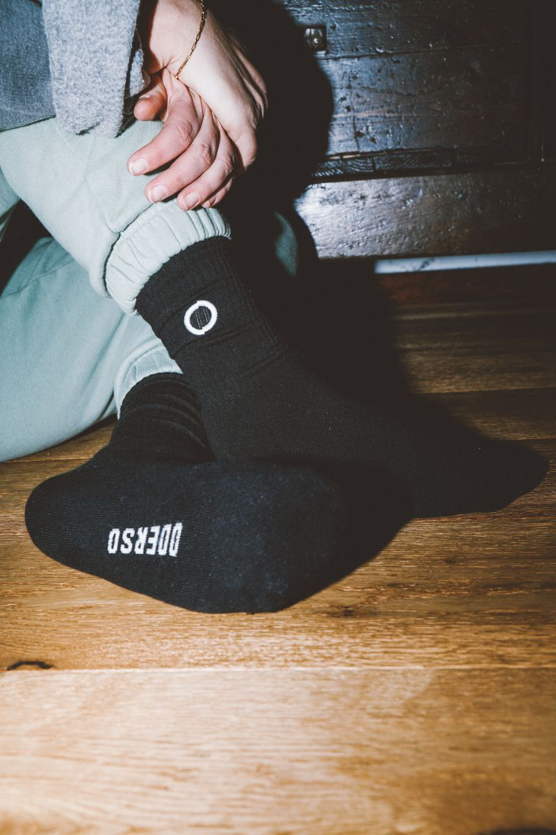 Lazybones Socks Black