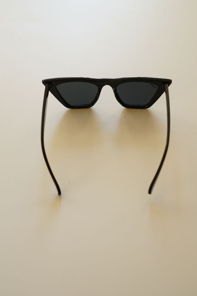 Spiky Sunglasses Black