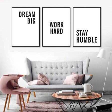 Motivational Quote Poster Set