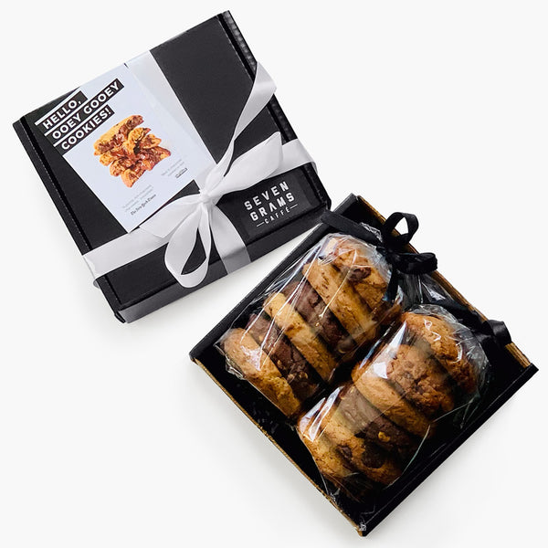 Seven Grams Caffé Cookie Gift Box – Chocolate Chip Cookie Assortment