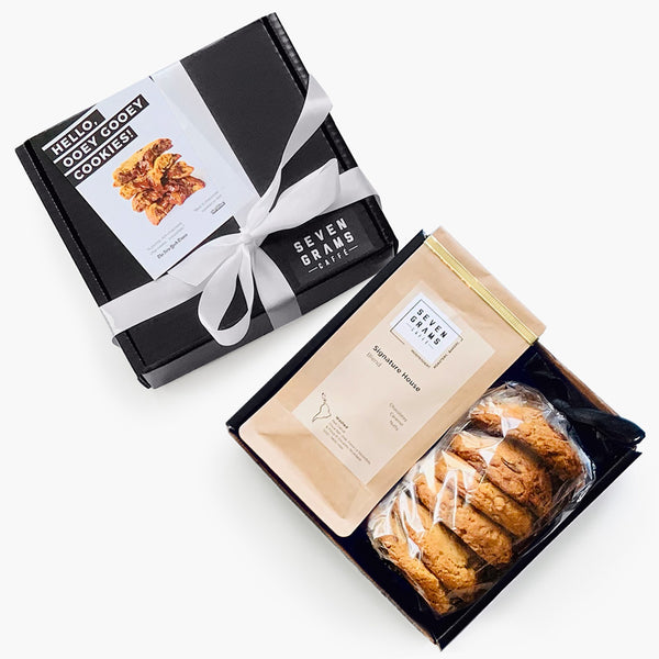 Seven Grams Caffé Gift Box – Cookie & Coffee Bundle