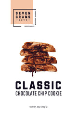 Seven Grams Caffé Snackable Classic Chocolate Chip Cookie