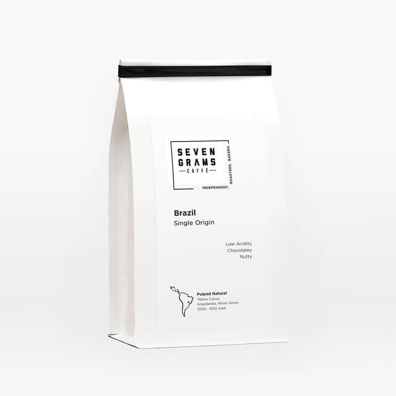 Seven Grams Caffé – Brazil Single Origin – Whole Coffee Beans – Independent Coffee Roasters – Coffee Subscription