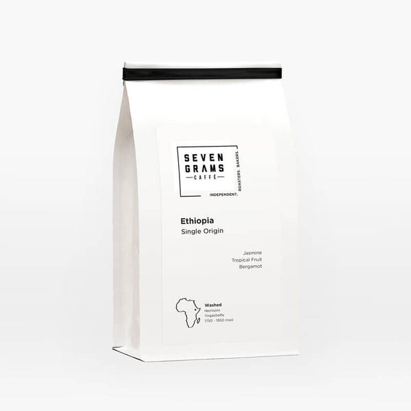 Seven Grams Caffé – Ethiopia Single Origin – Whole Coffee Beans – Independent Coffee Roasters – Coffee Subscription