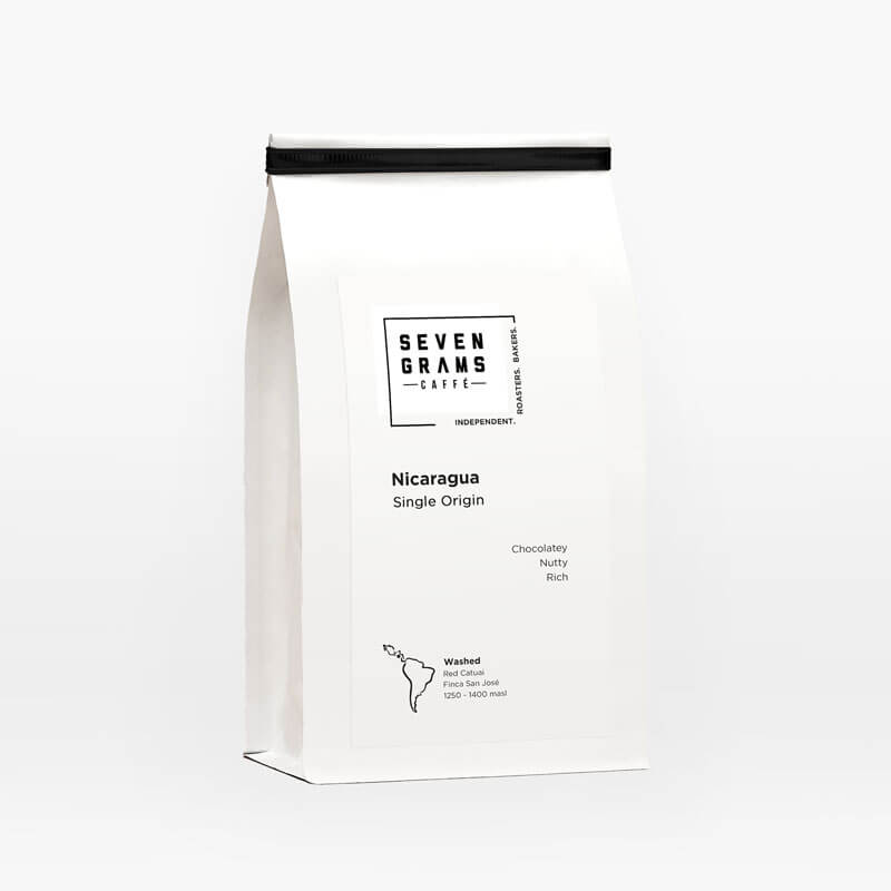 Seven Grams Caffé – Nicaragua Single Origin – Whole Coffee Beans – Independent Coffee Roasters – Coffee Subscription