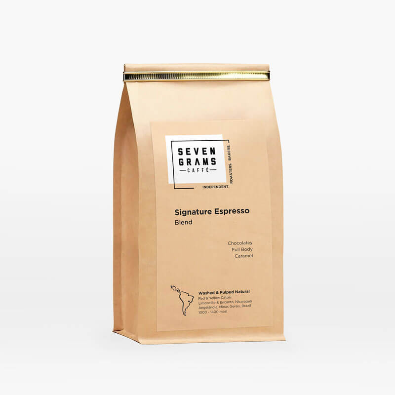 Seven Grams Caffé – Signature Espresso Blend – Whole Coffee Beans – Independent Coffee Roasters – Coffee Subscription
