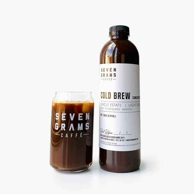 Seven Grams Caffé – Cold Brew Concentrate – Independent Coffee Roasters – Coffee Subscription Available