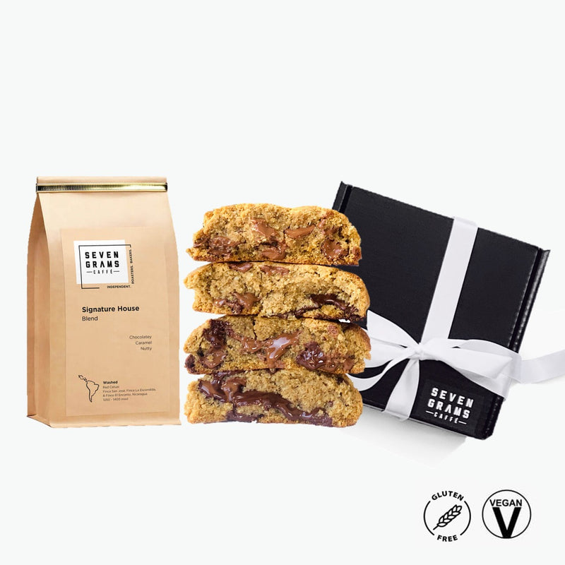 The GLUTEN FREE Vegan Cookie & Coffee Gift Box