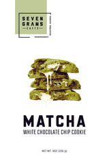 Seven Grams Caffé Snackable Matcha White Chocolate Chip Cookie