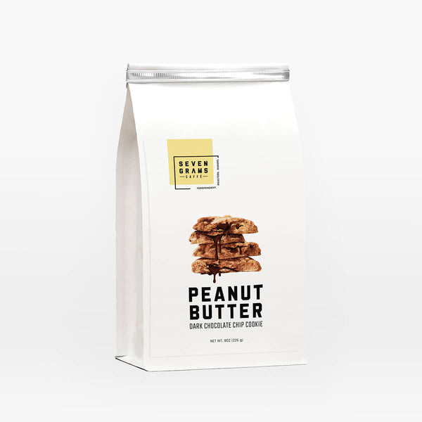 Seven Grams Caffé Snackable Peanut Butter Dark Chocolate Chip Cookie