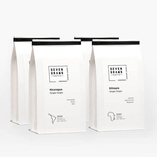 Seven Grams Caffé – The Brew Master's Coffee Bundle – Coffee Gift – Independent Coffee Roasters – Coffee Subscription