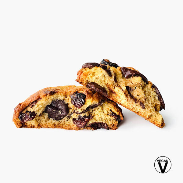 Vegan Cherry & Chocolate Scone