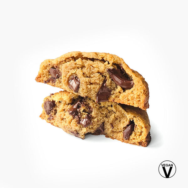 Seven Grams Caffé Vegan Peanut Butter Dark Chocolate Chip Cookie