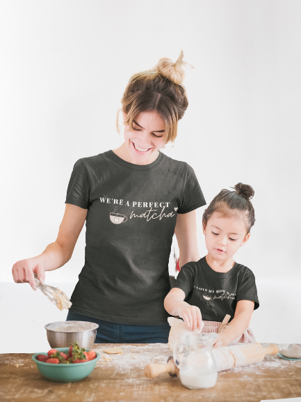 We're A Perfect Matcha Toddler Tee