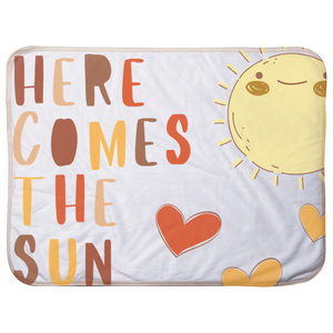 Here Comes The Sun Infant Sherpa Blanket