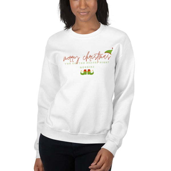 Merry Christmas You Cotton Headed Ninny Muggins Unisex Sweatshirt