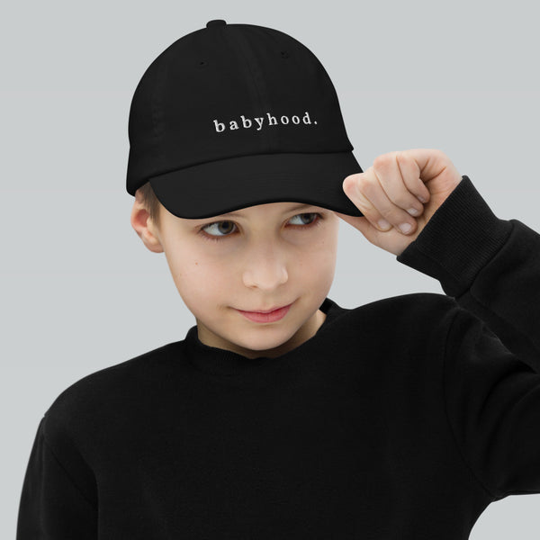 Babyhood Youth Baseball Cap