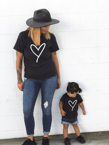 Lacey Heart T-Shirt