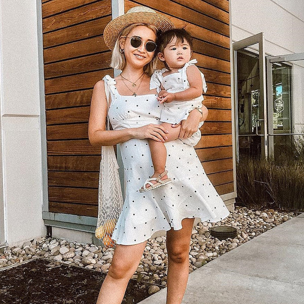 Hailey Polka Dot Dress