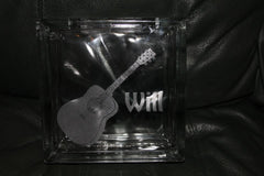 Will Glass Coin Bank