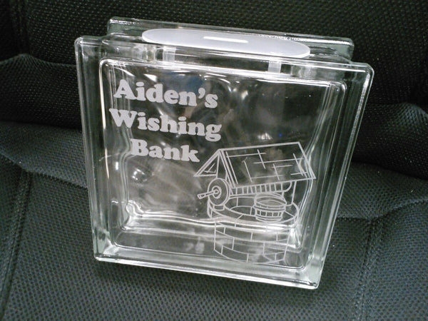 Glass Coin Bank