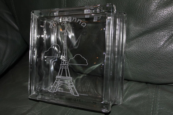 Briyanna Glass Coin Bank