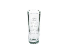 Custom Etched Shot Glass