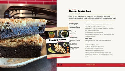 Recipe: Cluster Buster Bars