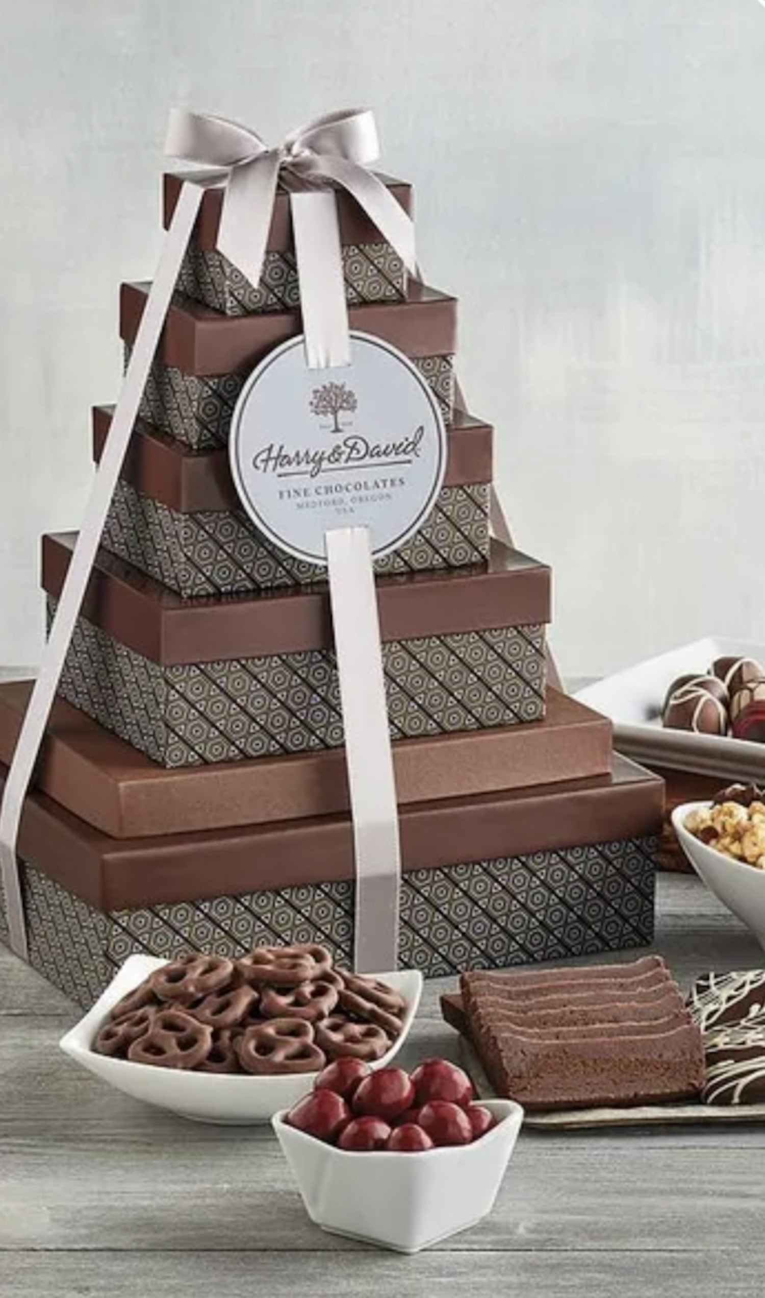 Harry & David's Tower Of Chocolates Deluxe Gift
