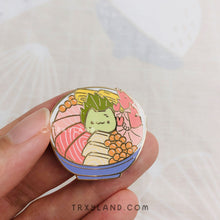 Load image into Gallery viewer, Chirashi Catto Enamel Pin