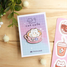 Load image into Gallery viewer, Cozy Latte Enamel Pin