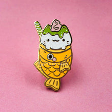 Load image into Gallery viewer, Matcha Taiyaki Enamel Pin