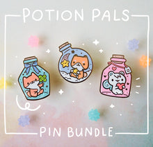Load image into Gallery viewer, Potion Pals Series Bundle - Enamel Pins