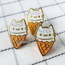 Load image into Gallery viewer, Vanilla Sprinkles Enamel Pin