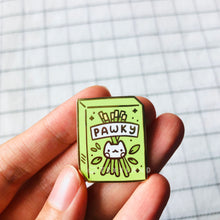 Load image into Gallery viewer, Pawky Enamel Pin