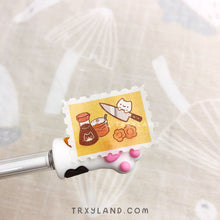 Load image into Gallery viewer, Kitty Chef Stamp Washi Tape