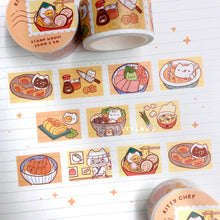 Load image into Gallery viewer, Kitty Chef Series SUPER Bundle - Enamel Pins + Washi Tape