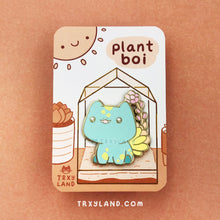 Load image into Gallery viewer, Dreamy Plant Boi Enamel Pin