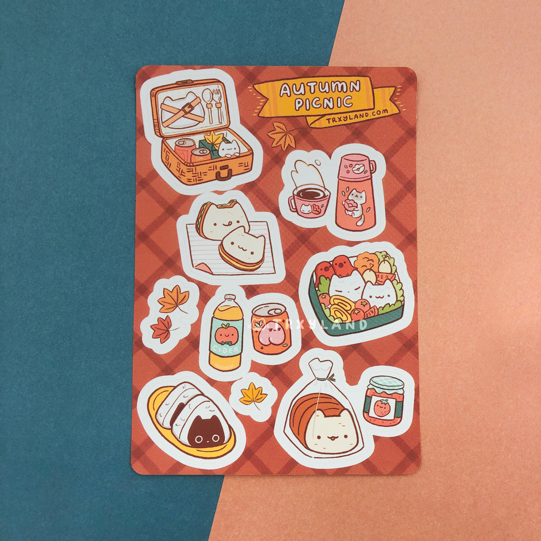 Autumn Picnic Sticker Sheet
