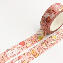 Load image into Gallery viewer, Sakura Picnic Gold Foil Washi Tape