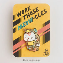 Load image into Gallery viewer, Workout Kitties Series Bundle Enamel Pins