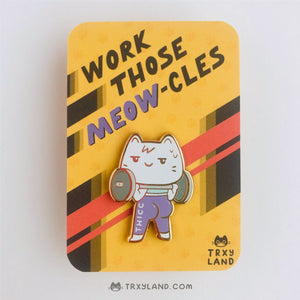 Thicc Kitty Enamel Pin
