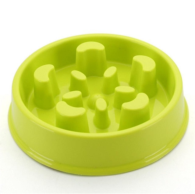 Eat Slow Dog Bowl