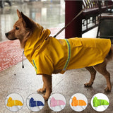 S-5XL Raincoats with light reflection