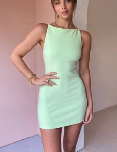 Bec and Bridge - Clover Mini Dress in Green