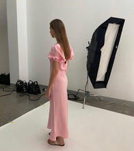 Load image into Gallery viewer, Ruby - Kendall Linen Dress in Pink