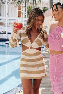 Beginning Boutique - 9.0 Swim Cleo Crochet Dress
