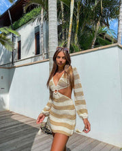 Load image into Gallery viewer, Beginning Boutique - 9.0 Swim Cleo Crochet Dress