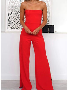 Nookie - Glamour Jumpsuit Red