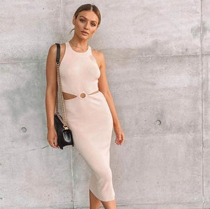 Kookai - Lola Cut Out in Beige